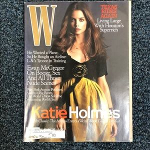 Other - W magazine Katie Holmes for coffee table